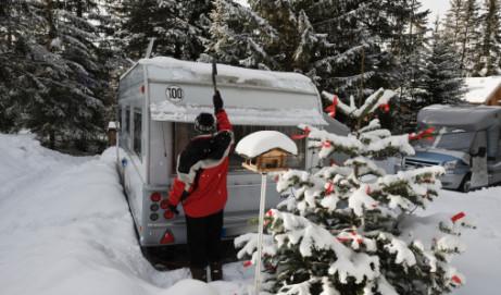 Bien équiper son camping-car en hiver
