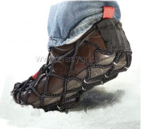 chaussures anti derapantes neige